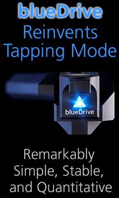 bluedrive photothermal excitation option for Cypher atomic force microscopes